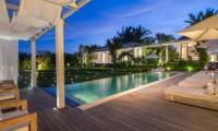 Pure Villa Bali Pool Night View | Canggu, Bali