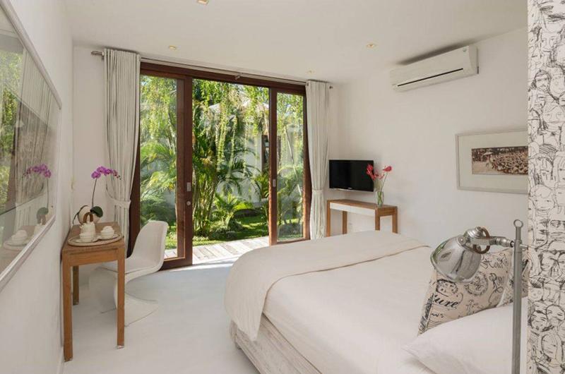 Pure Villa Bali Bedroom with TV | Canggu, Bali
