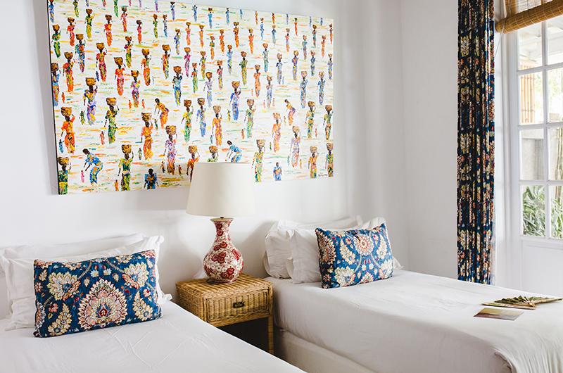 The Cotton House Twin Bedroom Area | Seminyak, Bali