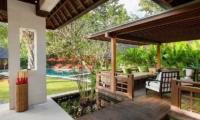 Villa Beji Pool Side Lounge Area | Canggu, Bali