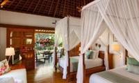 Villa Beji Bedroom with Twin Beds | Canggu, Bali
