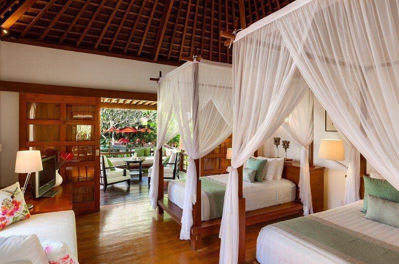 Villa Beji Bedroom with Twin Beds   Canggu, Bali