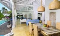 Villa Jolanda Dining Room|Seminyak, Bali