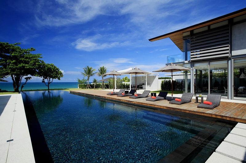Sava Beach Villas Villa Cielo Sun Loungers   Natai, Phang Nga