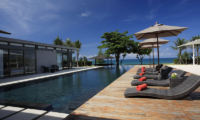 Sava Beach Villas Villa Cielo Reclining Sun Loungers   Natai, Phang Nga
