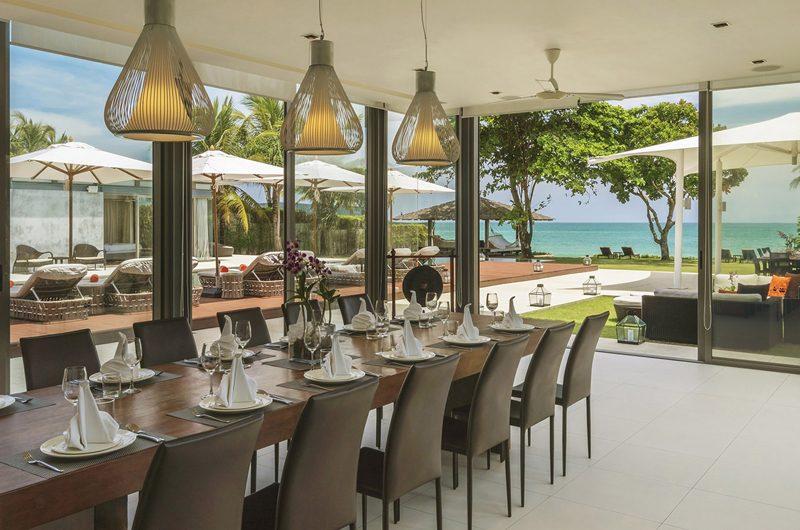 Sava Beach Villas Villa Cielo Pool Side Dining   Natai, Phang Nga