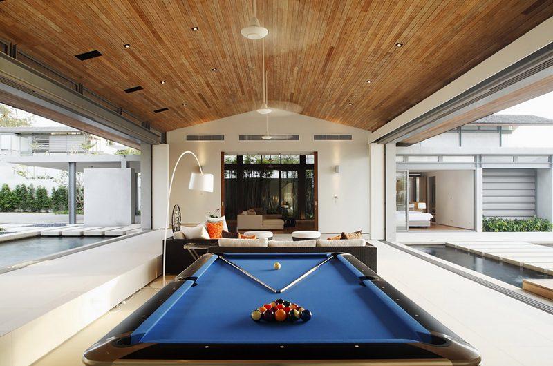 Sava Beach Villas Villa Cielo Billiard Table | Natai, Phang Nga