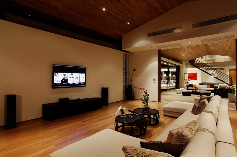 Sava Beach Villas Villa Cielo Media Room | Natai, Phang Nga