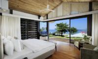 Sava Beach Villas Villa Cielo Bedroom with TV   Natai, Phang Nga
