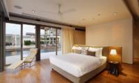 Sava Beach Villas Villa Cielo Bedroom with Pool View | Natai, Phang Nga
