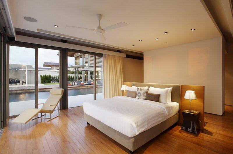 Sava Beach Villas Villa Cielo Bedroom with Pool View   Natai, Phang Nga