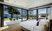Sava Beach Villas Villa Cielo Bedroom with Sea View | Natai, Phang Nga