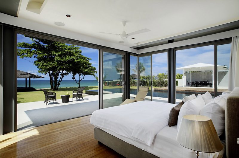 Sava Beach Villas Villa Cielo Bedroom with Sea View   Natai, Phang Nga