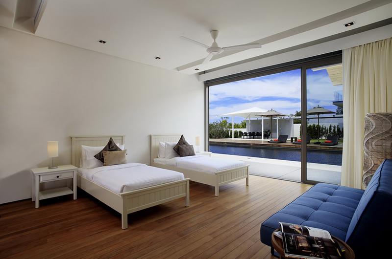 Sava Beach Villas Villa Cielo Twin Bedroom with Pool View   Natai, Phang Nga