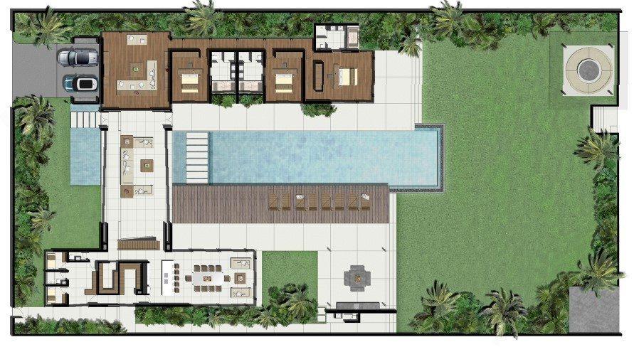 Villa Cielo Floorplan | Natai, Phang Nga