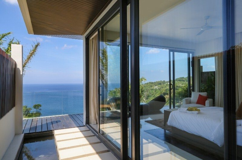 Villa Saan Bedroom View | Kamala, Phuket