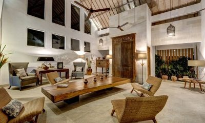 Abaca Villas Living Area   Petitenget, Bali