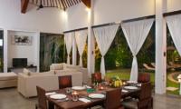 Villa Alice Dua Living and Dining Area | Seminyak, Bali