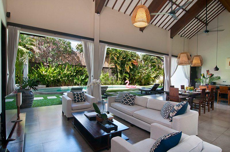 Villa Alice Satu Open Plan Living Area | Seminyak, Bali
