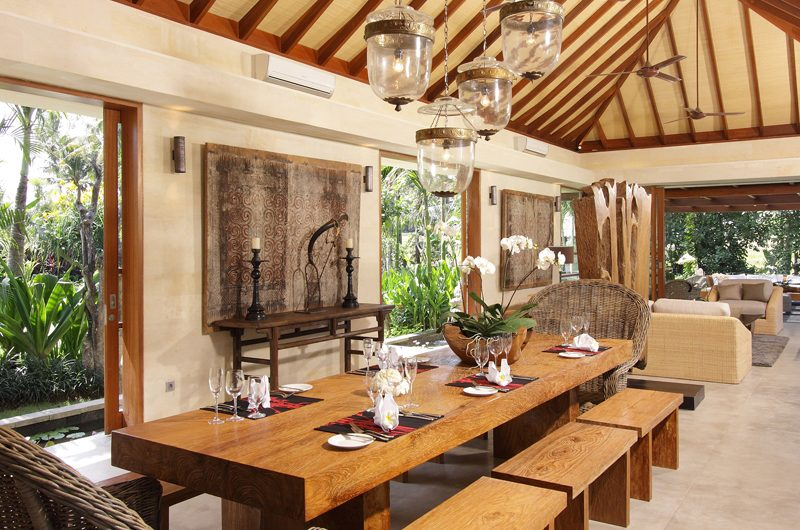 Dea Villas Villa Sarasvati Dining Area | Canggu, Bali
