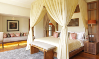 Dea Villas Villa Sarasvati Bedroom with Wooden Floor | Canggu, Bali