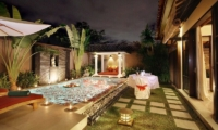 The Bli Bli Villas Pool Side Dining | Seminyak, Bali