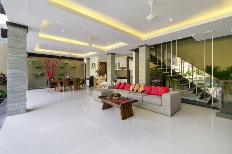 The Kumpi Villas Open Plan Living Room|Seminyak, Bali