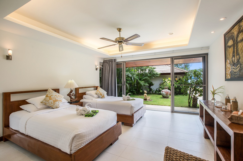 Akuvara Bedroom with Twin Beds | Lipa Noi, Koh Samui