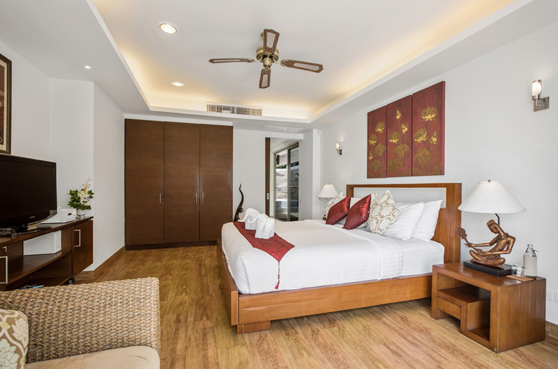 Akuvara Bedroom with TV | Lipa Noi, Koh Samui