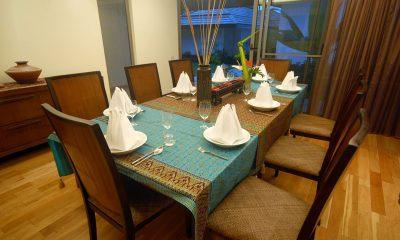 Akuvara Indoor Dining Area   Lipa Noi, Koh Samui