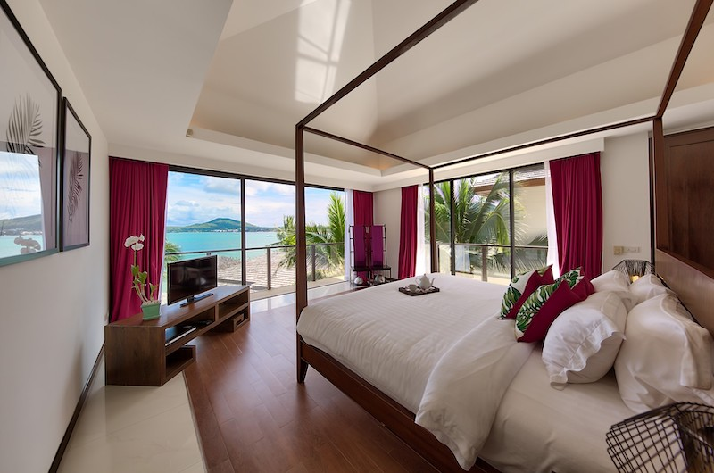 Baan Benjamart Bedroom with Beach View | Bophut, Koh Samui