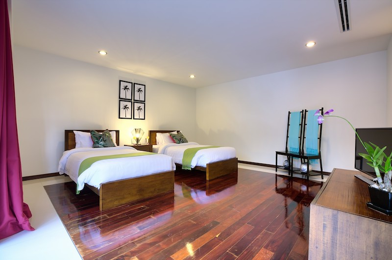 Baan Benjamart Bedroom with Two Single Bedrooms | Bophut, Koh Samui