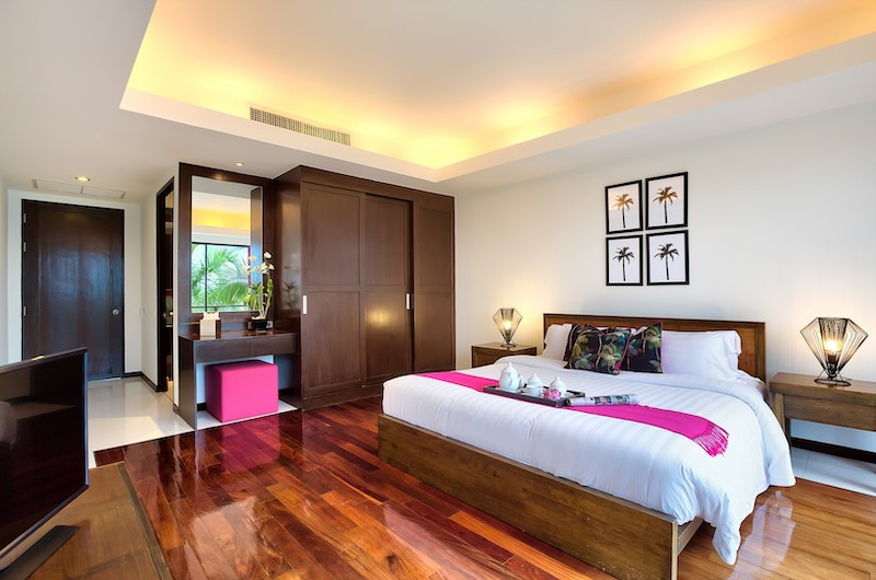 Baan Benjamart Bedroom with Wooden Deck | Bophut, Koh Samui