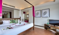 Baan Benjamart Bedroom with Four Poster Bed | Bophut, Koh Samui