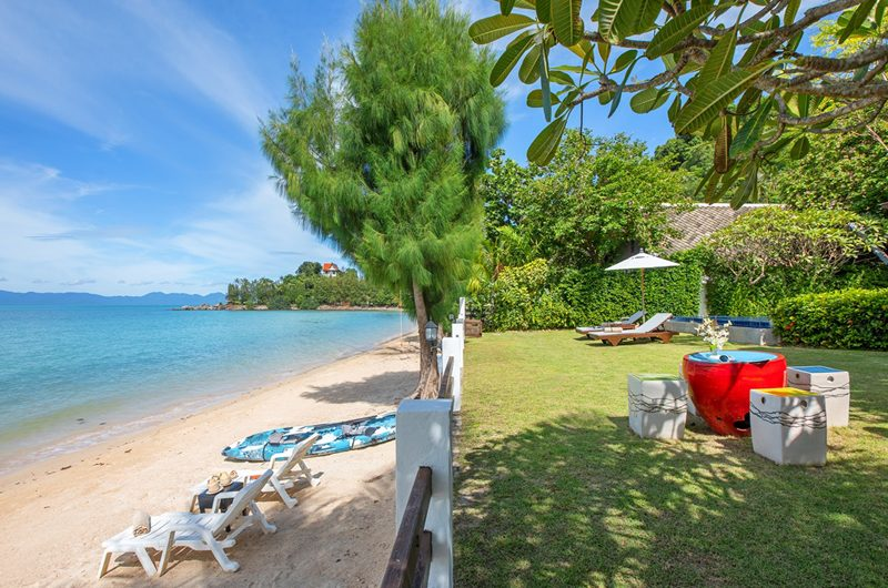 The Emerald Beach Villa 4 Beachfront View | Bang Por, Koh Samui