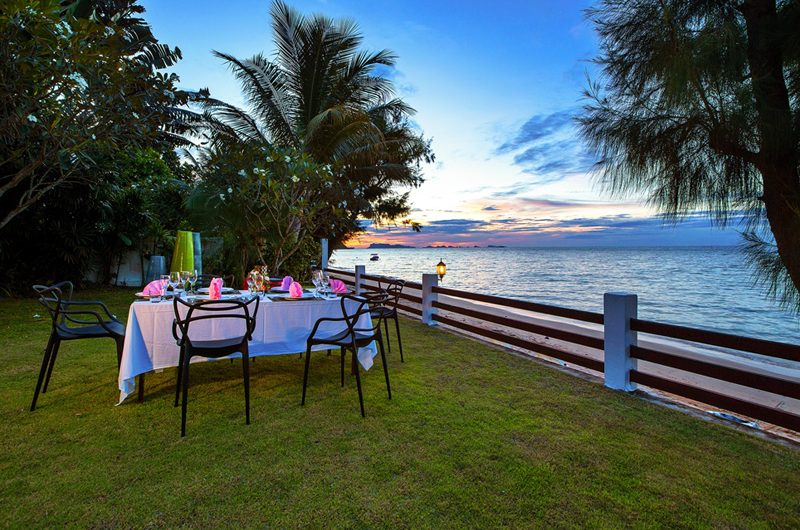 The Emerald Beach Villa 4 Outdoor Dining | Bang Por, Koh Samui