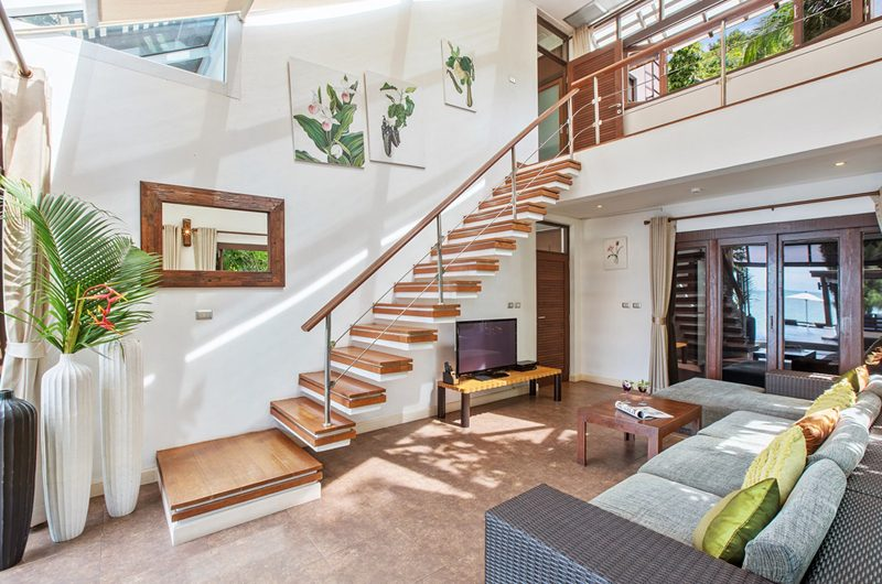 The Emerald Beach Villa 4 Up Stairs | Bang Por, Koh Samui