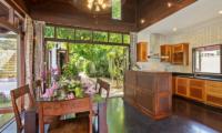 The Emerald Beach Villa 4 Kitchen and Dining Area | Bang Por, Koh Samui