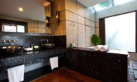 The Emerald Beach Villa 4 His and Hers Bathroom | Bang Por, Koh Samui