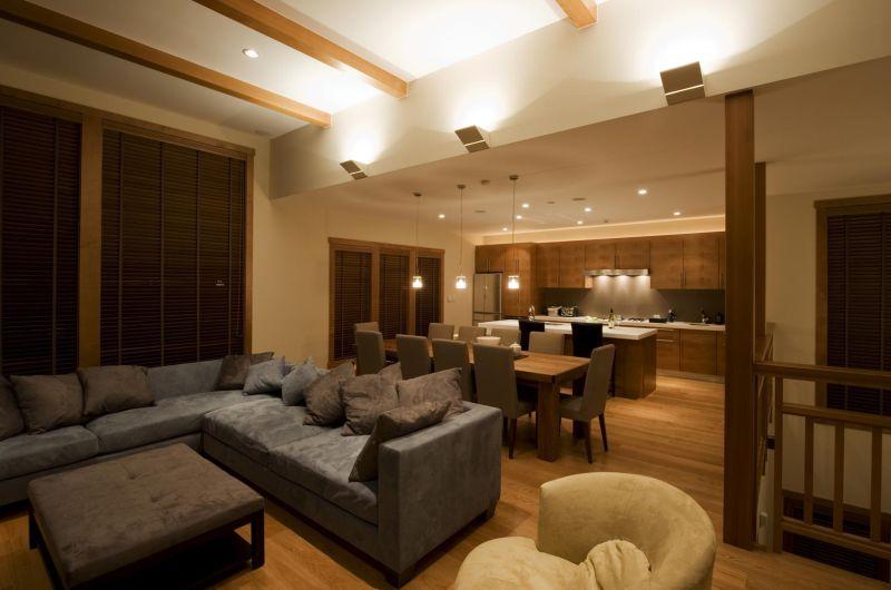 Enju Living Room   Middle Hirafu Village, Niseko