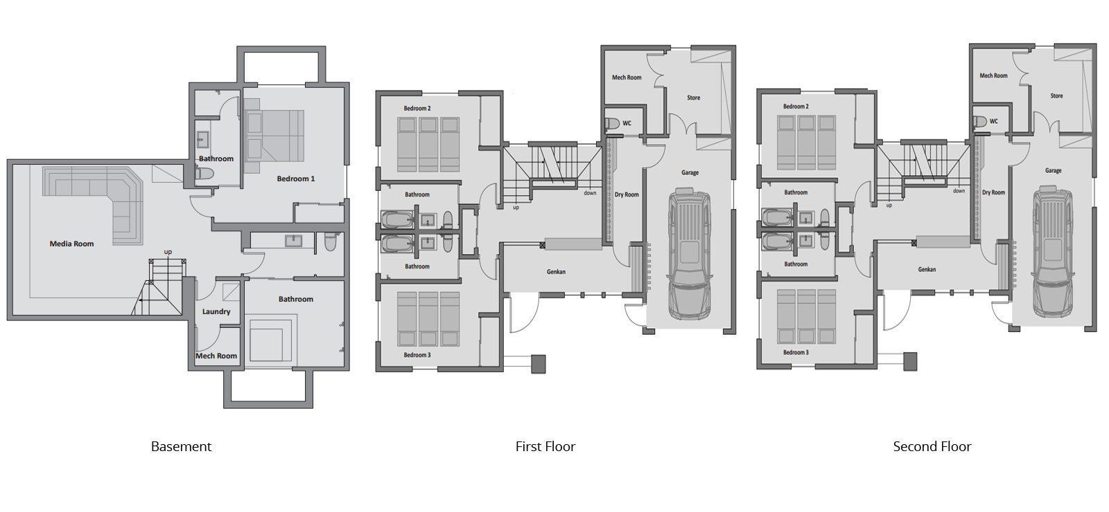 Enju Floorplan | Hirafu, Niseko
