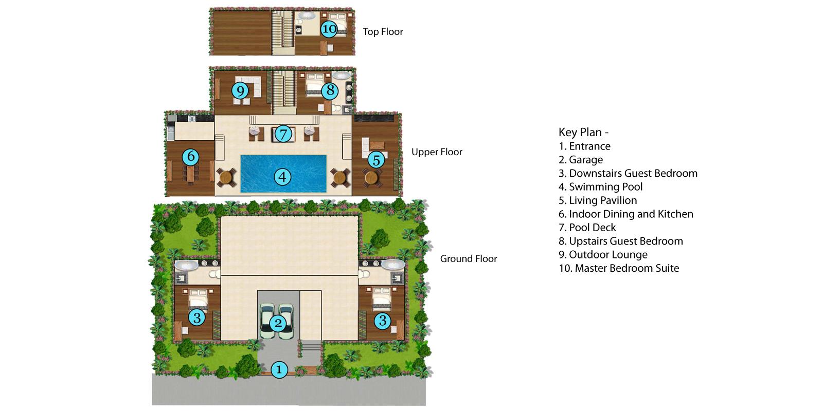 Baan Bon Khao Floorplan | Surin, Phuket