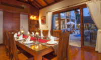 Baan Bon Khao Dining Area with Pool View | Surin, Phuket