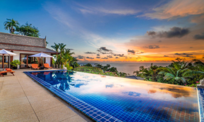 Baan Bon Khao Pool with Sunset Views | Surin, Phuket