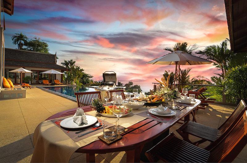Baan Bon Khao Outdoor Dining Table | Surin, Phuket