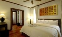 Villa Apsara Bedroom with Wooden Floor | Bang Tao, Phuket