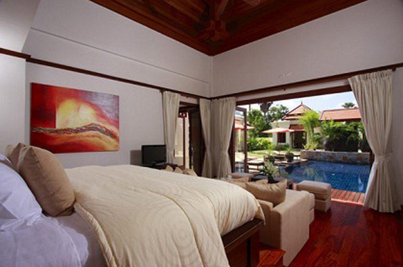 Villa Apsara Bedroom with Pool View | Bang Tao, Phuket