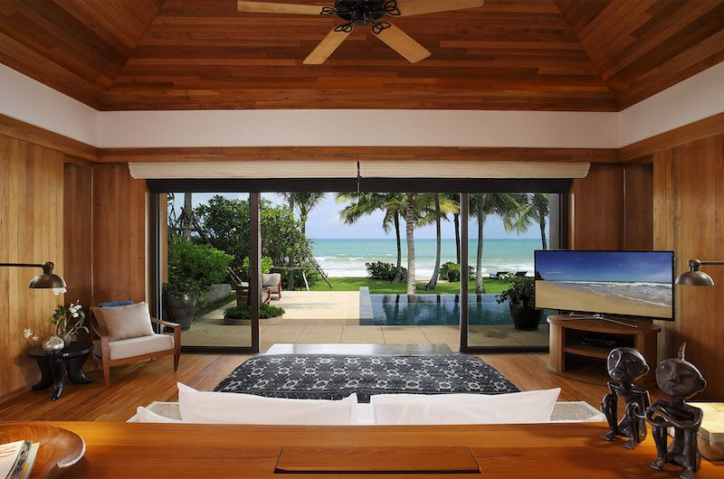 Villa Nandana Bedroom with TV | Natai, Phang Nga