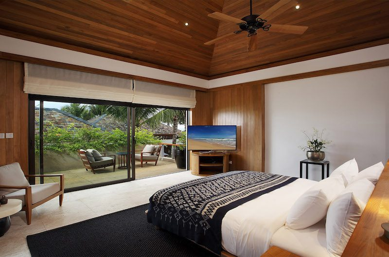 Villa Nandana Bedroom with Balcony | Natai, Phang Nga