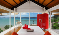 Villa Sapna Bedroom with Sea View | Cape Yamu, Phuket